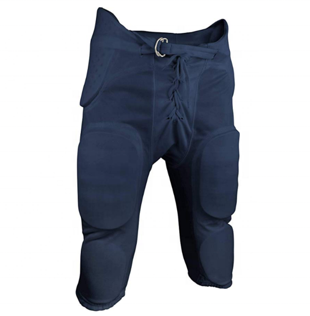 American Football Youth Game Pants with Integrated Pads