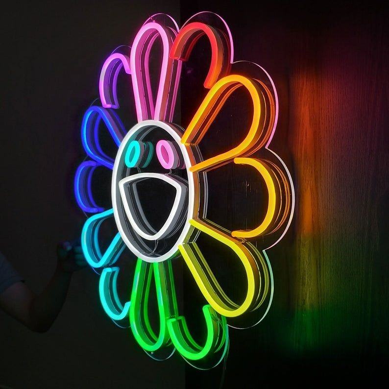 light neon flex led sign murakami new design custom made neon acrylic sign 12v led custom neon