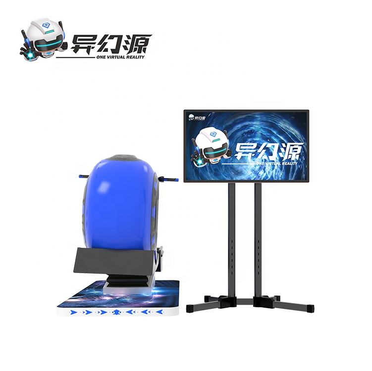 YHY Original Factory 2020 Japan Sonic Arcade Games 9D Virtual Reality Racing VR Machine