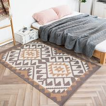 Nordic floor mat  wavy pattern tapestry door mats living room decor rugs