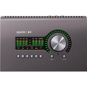 Hot Sales Universal Audio Apollo x4 Thunderbolt 3 Desktop Audio Interface with Real-Time UAD Processing