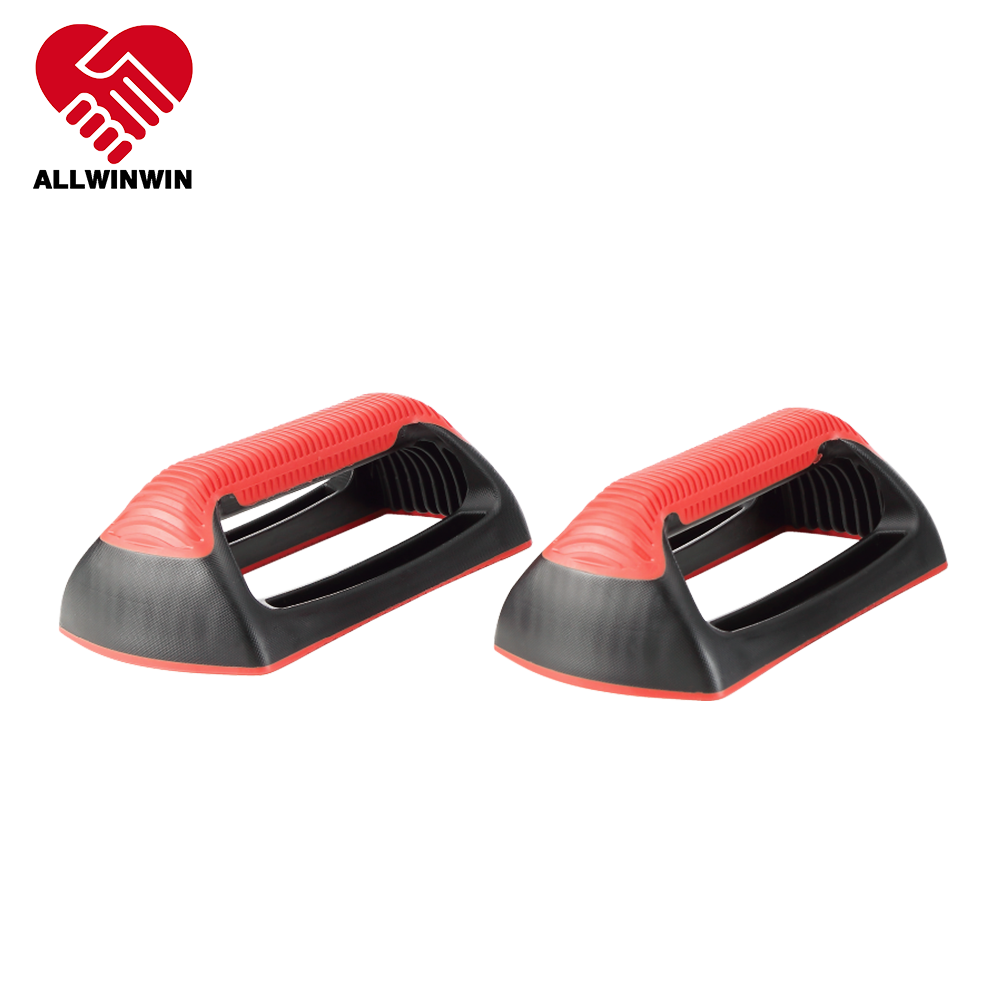 ALLWINWIN PUB17 Push Up Bar - Handle Stand Pushup Fitness Gym Device Strengthens Entire Body
