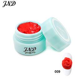 Best selling 12 colors uv nail art modelling manicure diy sculpture 4d gel