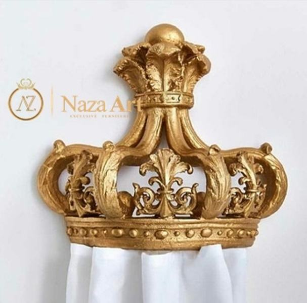 Most Wanted Crown Wall Decoration Hanging Decoration for Luxury Baby Room Monarch Crown from Indonesia Export Quality Low MOQ
