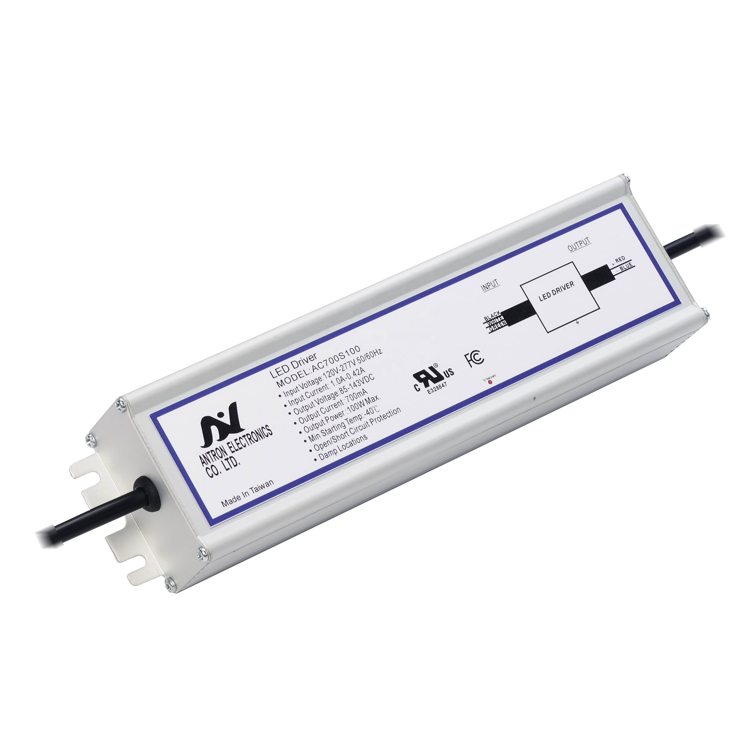 91W IP67 LED Power Supply for Outdoor Flood Light