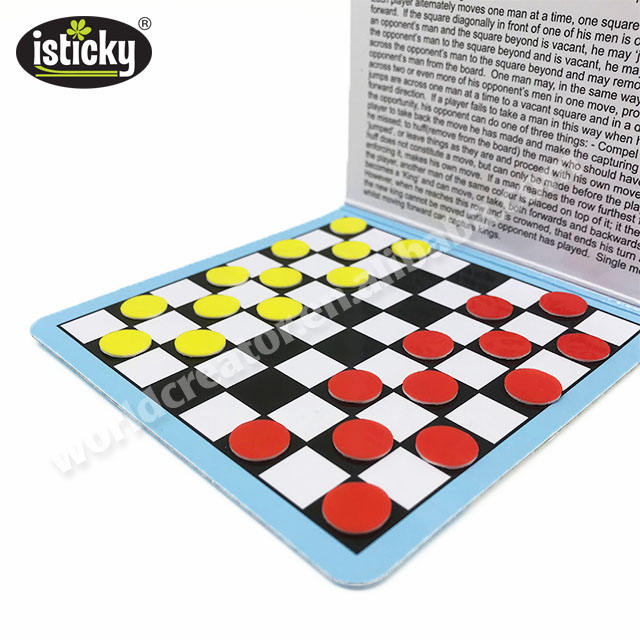 Board Game Draughts Travel Games