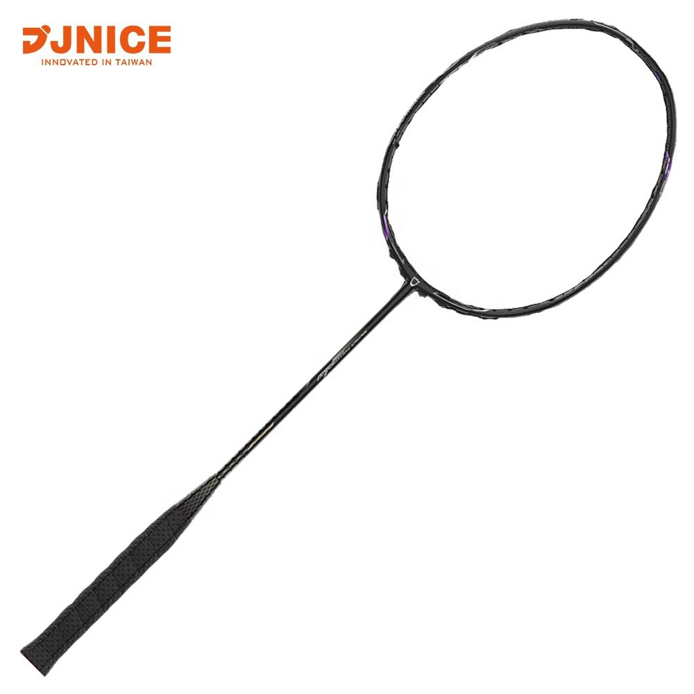 JNICE Taiwan Made Black Panther Badminton Racket