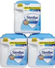 Similac for Supplementation, Infant Formula with Iron, NON-GMO,