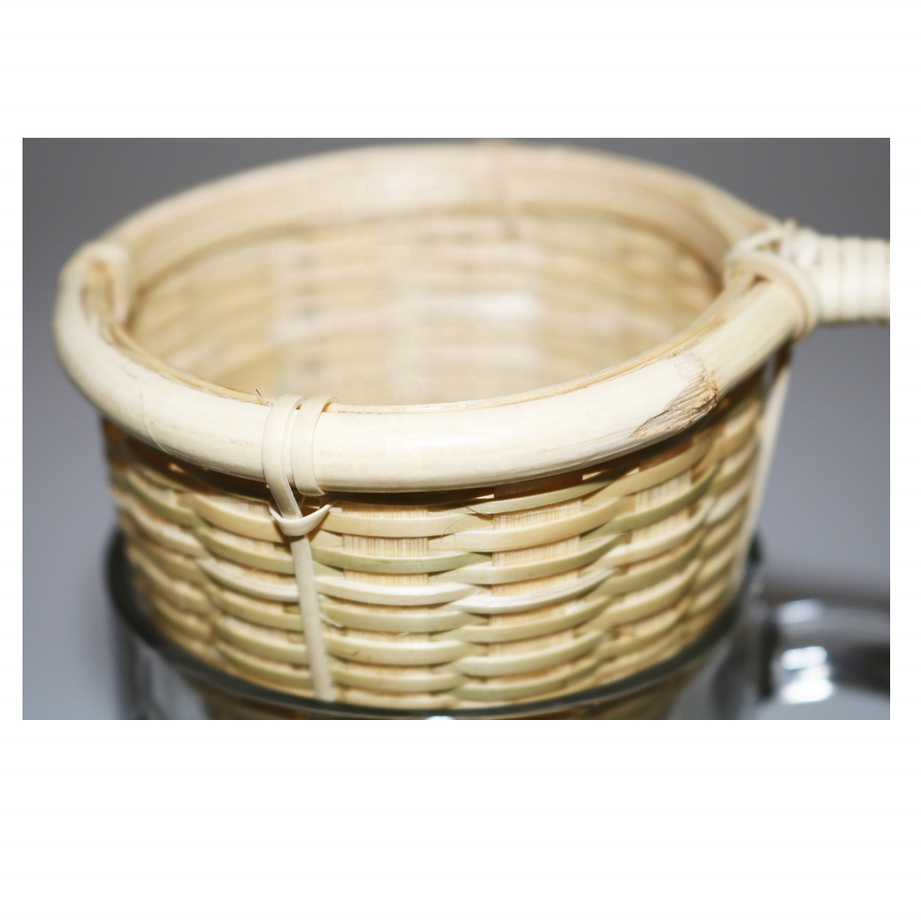 100% Natural eco friendly bamboo tea strainer coffee filter holder (Made in VietNam)