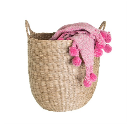 Wholesale price cheap custom size handwoven seagrass storage basket