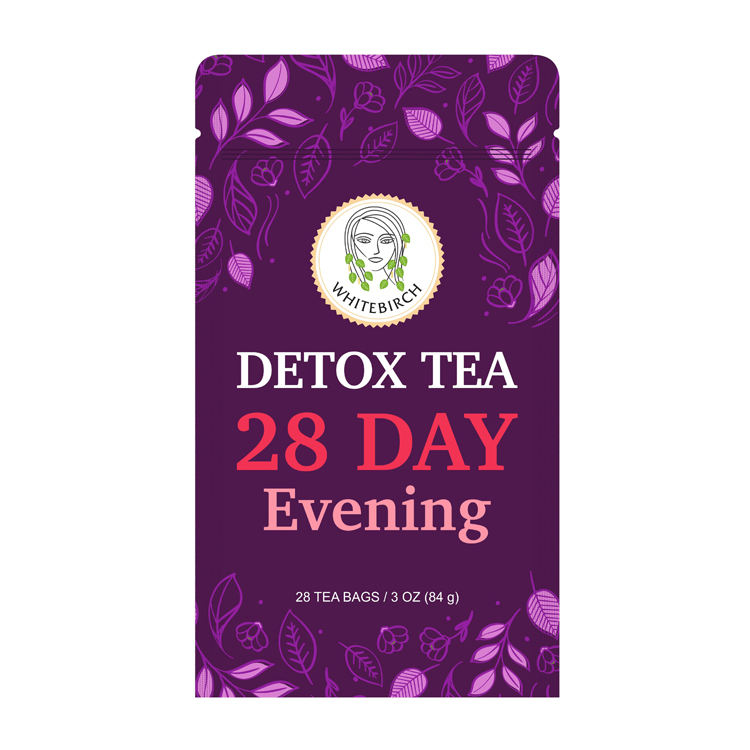 Hot Selling Top Quality Private Label Slimming Detox Tea 28 Day Evening
