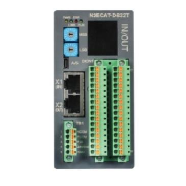 Best Korean N3ECAT-DB32T EtherCAT Based 16/16 channel Digital I/O Function Module Network Controller