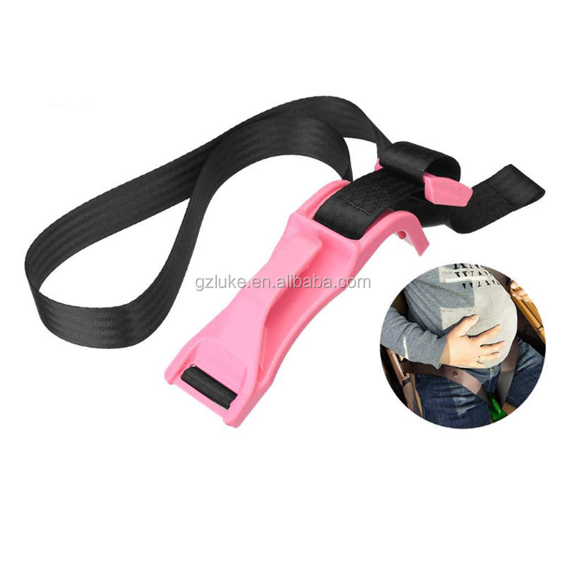Wholesale Pink Car Seat Belt Adjuster For Pregnancy Driving Safe Belt