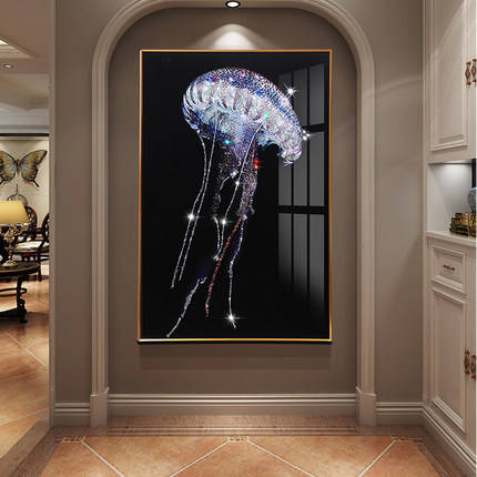 Art Wall Painting New Design 3D Diamond Painting Adhesive Wall Art 3D Wall Painting Amazing Oil Print Painting On Canvas For Living Room
