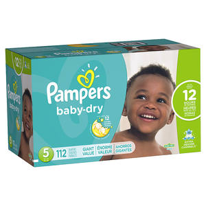 Pampers Dry baby diapers
