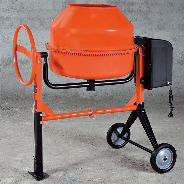 1 Bag Cement Portable Electric Motor Diesel Engine Cement Concrete Mixer