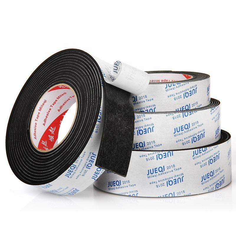 Strong adhesive super sticky 1mm to 10mm thick single sided double sided adhesive 3meter 5meter sealing eva foam grip tape