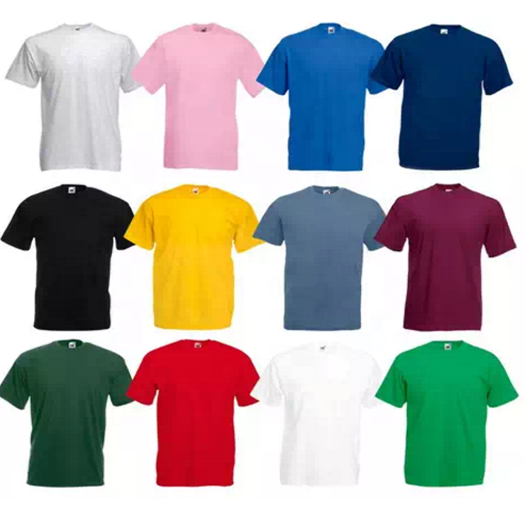 Soft Cotton Plain Designer T shirts For Men