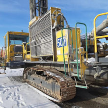Used rotary drilling rig Atlas Copco DM45 crawler drilling machine