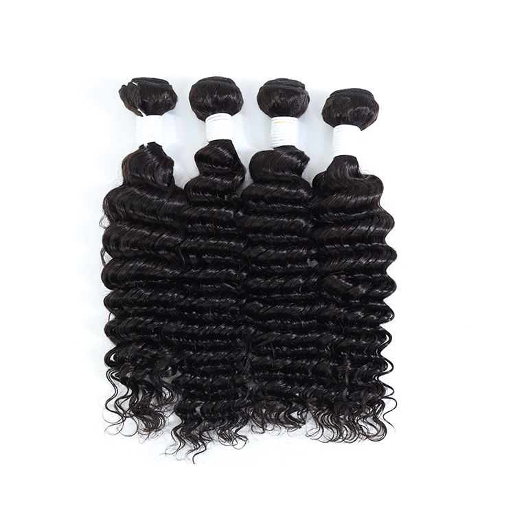 Deep WAVE Human Hair EXTENSION Hot MADE IN VIETNAM ผลิตภัณฑ์ Virgin Cuticle Aligned ผมผู้ขาย Virgin Hair Bundles