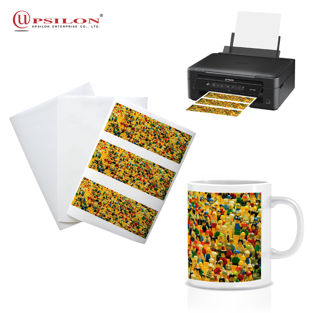 Inkjet Heat Transfer Mug Sublimation Paper A4 for Amazon