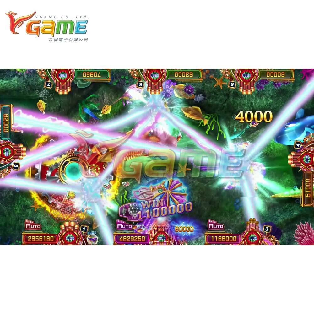 VGAME Hot Sell Fish Game Arcade Software for Casino