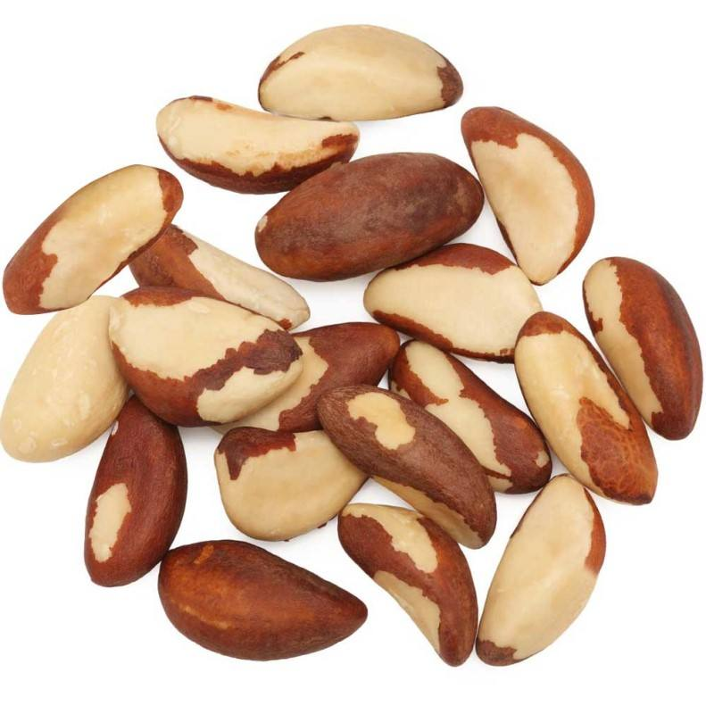 Raw Brazil Nuts, Brazil Nuts Shelled Brazil Nuts -100% Natural