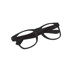 Attitude Glasses Black With Clear Lenses Wearables Made In China Sureshot Merchandise