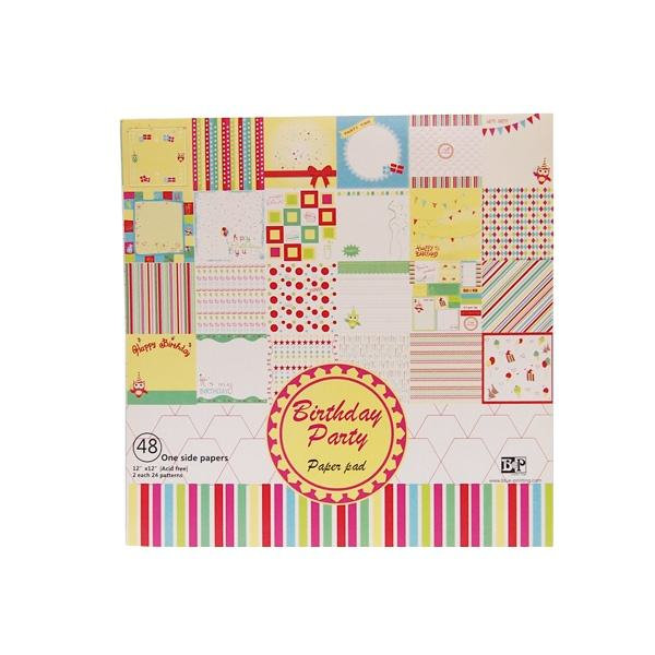 "6 ""X6"" Sheet Mengeksplorasi Kami Cetak Kertas Scrapbook Kit Scrapbooking"