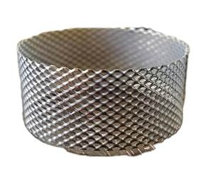 Stainless steel decorative thin expanded diamond metal mesh sales promotion