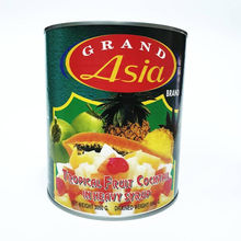 Canned Tropical Fruit Cocktail in Syrup Best product from Thailand high quality