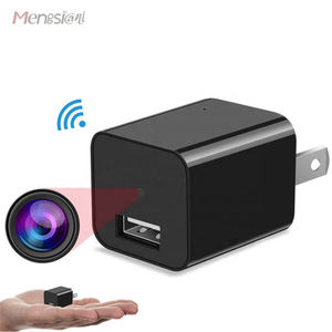 Full HD Webcam 1080P Wall Socket USB Charger Spy Camera Wifi ac Charger Adapter Wireless Hidden camera Mini Hidden Spy Camera