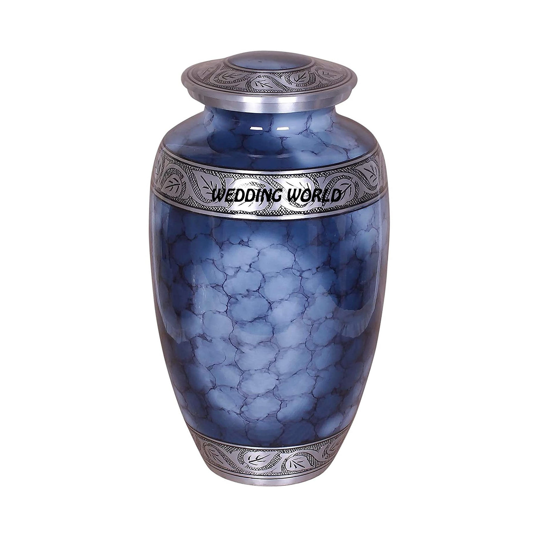 Blue Cremation Urn Wholesale Metal Pet Keepsake Cremation Urns Cheap Shipping Containers India Brass Cremation Urns For Sale
