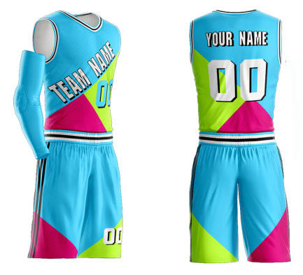 High Quality Men Sports Customized basketball kit Team Club korb ball uniform sublimation Design basketball uniform