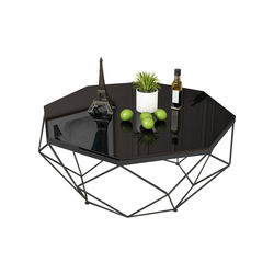 Good Product Best Quality Foldable Feature Metal Material Of Modern Oblo table
