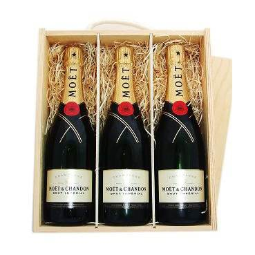 Moet & Chandon Brut Imperial Champagne 6X750 Ml 12.5%