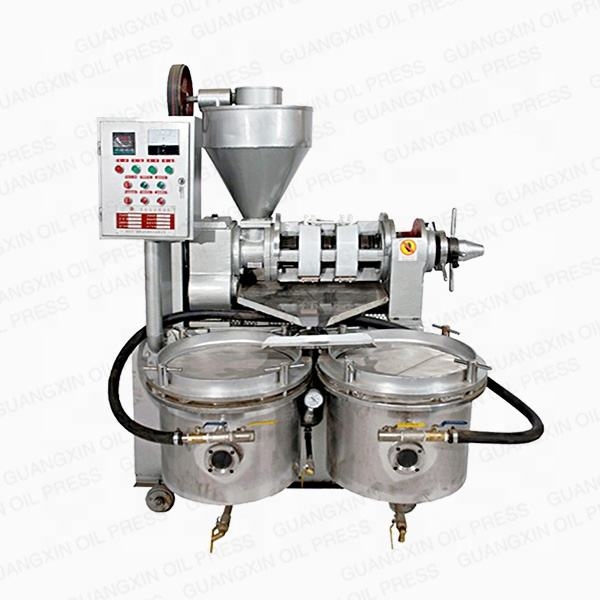 Factory price combined sunflower oil press machine with oil filter