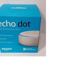 Quality Echo Dot Smart Speaker 3rd Generation w/ Alexa Charcoal Heather