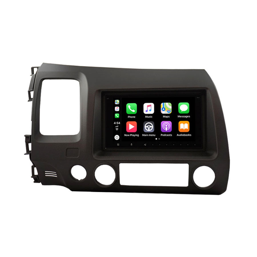 "7"" Touch Screen Car Audio Player Support Apple CarPlay Android Car Stereo for HONDA Civic 2009~2012"