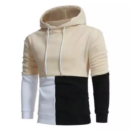 custom fleece oversize plain hooded hoodies sweatshirts for men