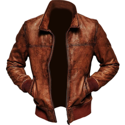 Pakistan Made Wholesale High Quality Mens Leather Jackets