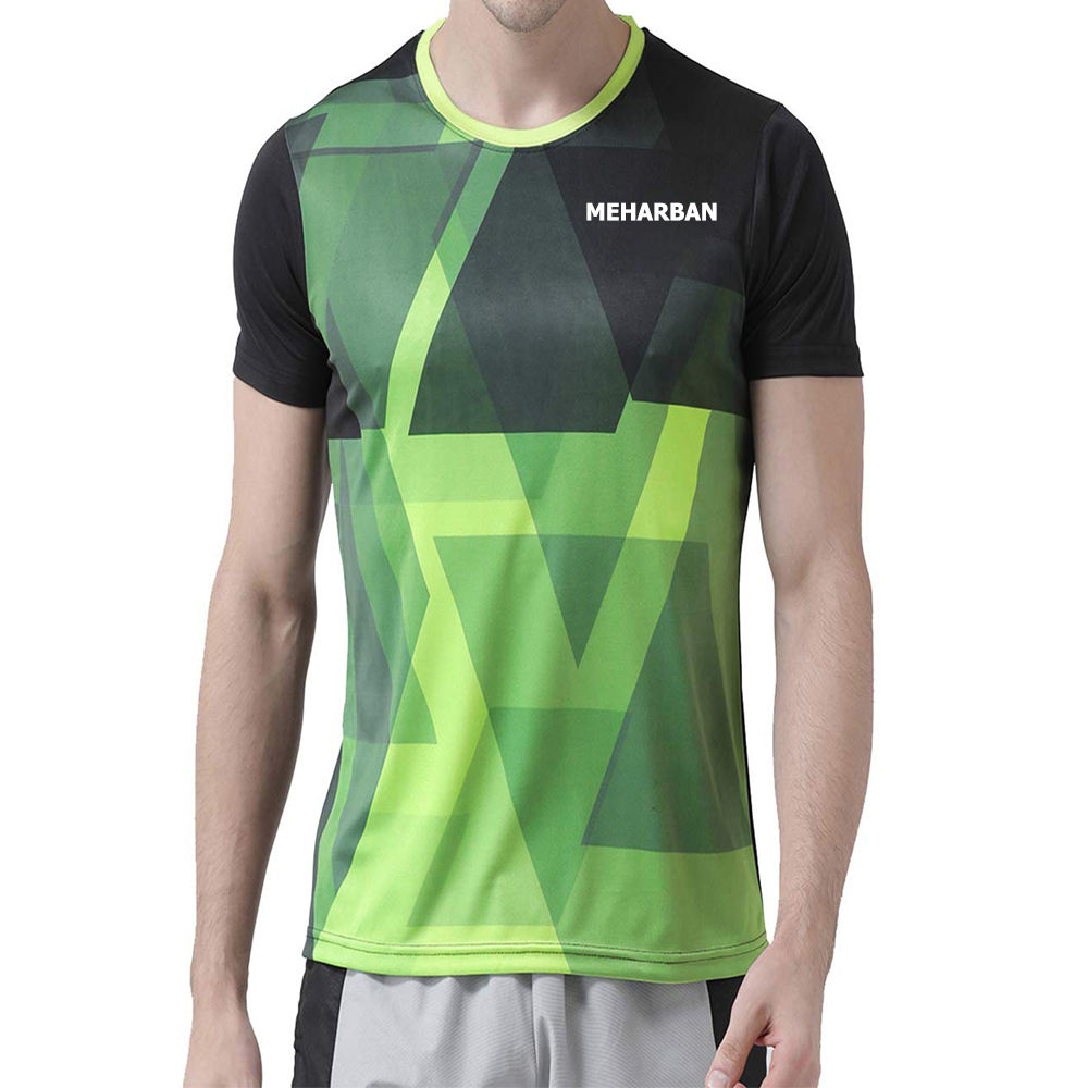 100%Cotton Polyester&Cotton/ Spandex&Cotton etc Custom /Sublimation T Shirts color Black green