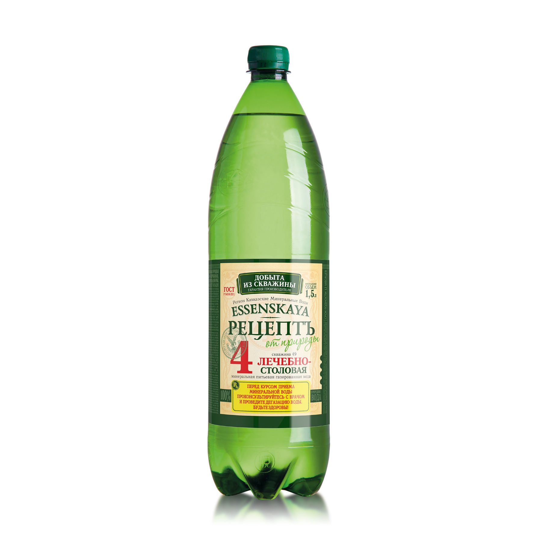 "Mineral Water ""Essenskaya 4"" PET 1,5L"