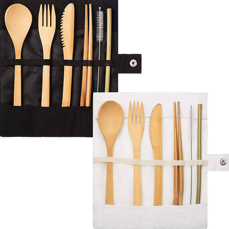 hot seller 2020 for wholesale of bamboo cutlery set with price promotion from Vinawoco Bamboo cutlery