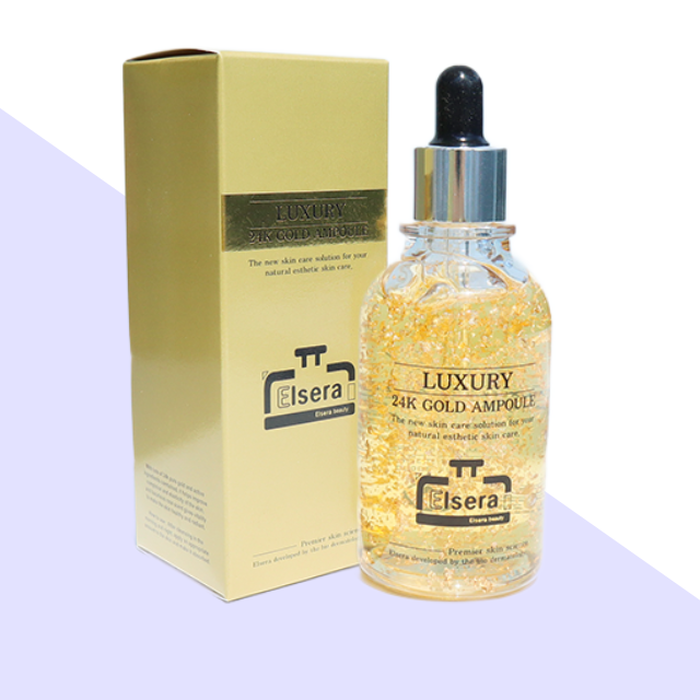 Elsera Gold AMPOULE Skin Moisturizing Hydrating Serum Serum Safe for Pregnant Women Kids OEM/ODM made in korea