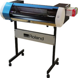 BRAND NEW Roland BN-20 Printer Cutter with stand and ink
