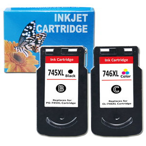 Uniplus PG 745 CL 746 XL chip reset refill ink cartridge for Canon Pixma TR4570 MG2570