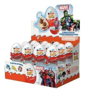 Kinder SURPRISE JOY EGG FOR BOYS 20GR X 48