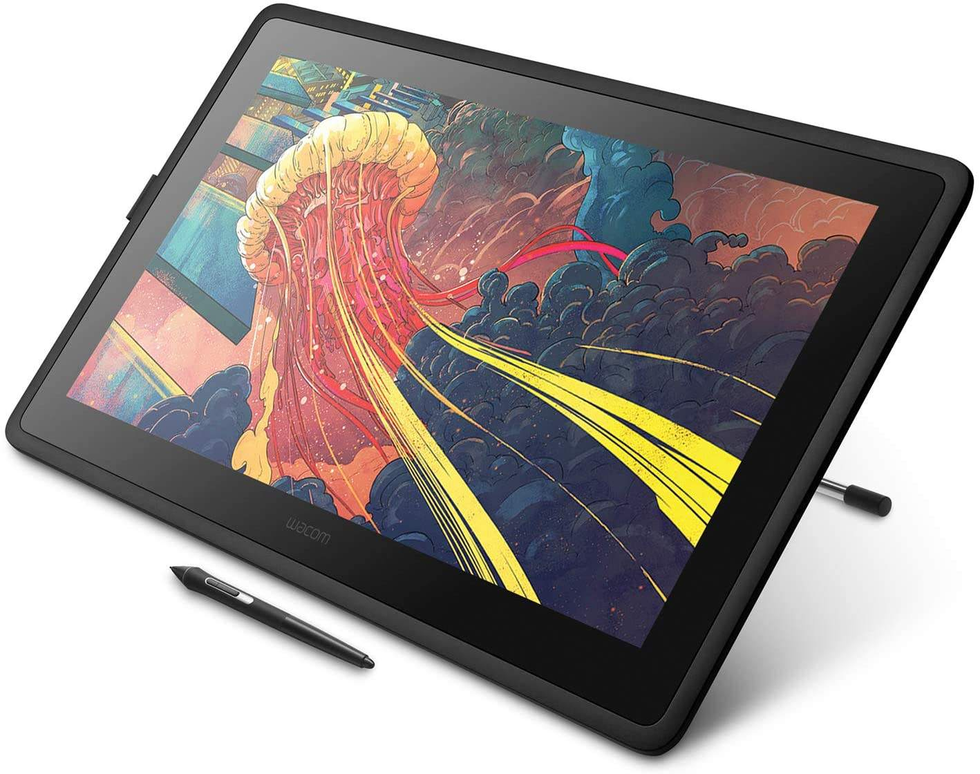 Latest Version - Wac'om Cintiq 22 Drawing TabletとHD Screen Graphic Monitor