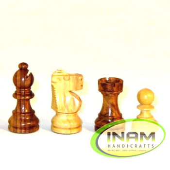 Decorative beautiful and designer handmade wooden Chessmen Fresh arrival 2021INAM HANDICRAFTS